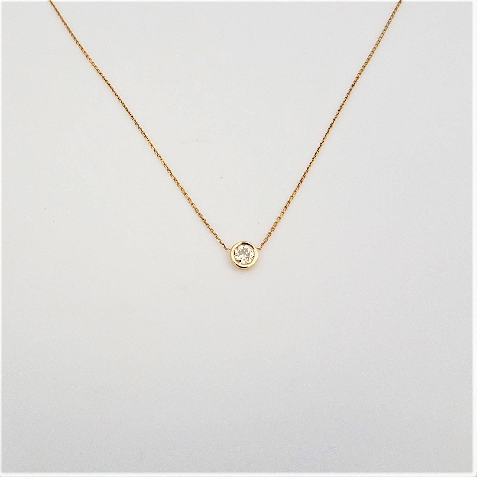 sexy item dainty sterling chain delicate korean stone from choker necklaces link bluce cz silver thin in necklace real pendant gold tiny